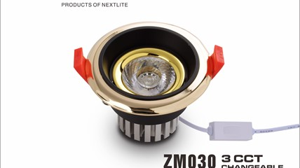 ZM030-3CCT 7W CHANGEABLE LED Downlight