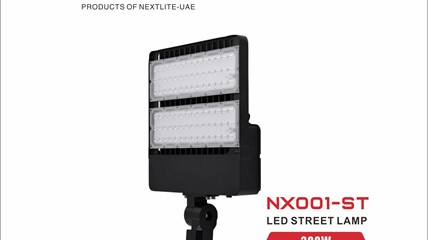 NX001 ST (STREET LAMP)/NX001 FL (LED FLOOD LAMP)