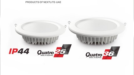 Quatro 25W & 36W IP44 LED Downlight